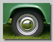 Morris Oxford Half Ton Pickup wheel