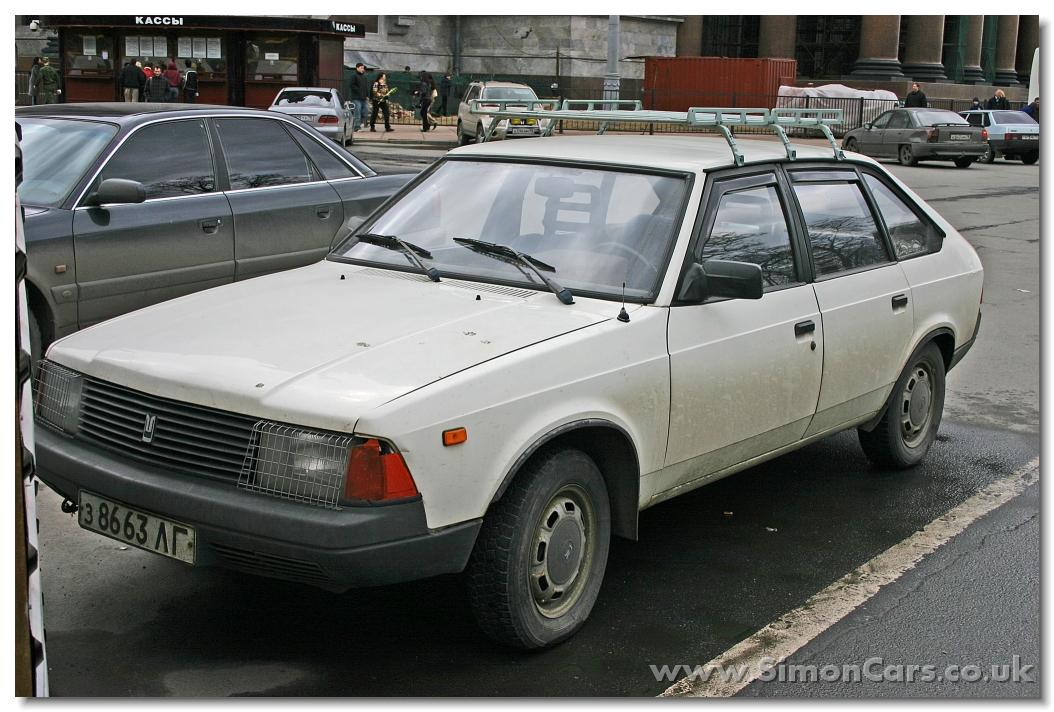 Simon Cars Russian Moskvitch