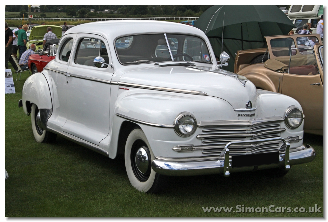 Simon cars plymouth p18 p19 p20 for 1947 dodge 2 door sedan