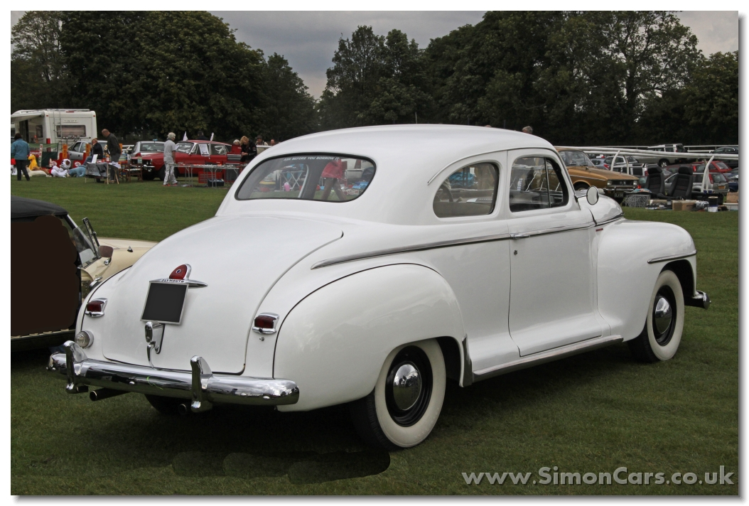 Simon cars plymouth p18 p19 p20 for 1947 plymouth 2 door coupe