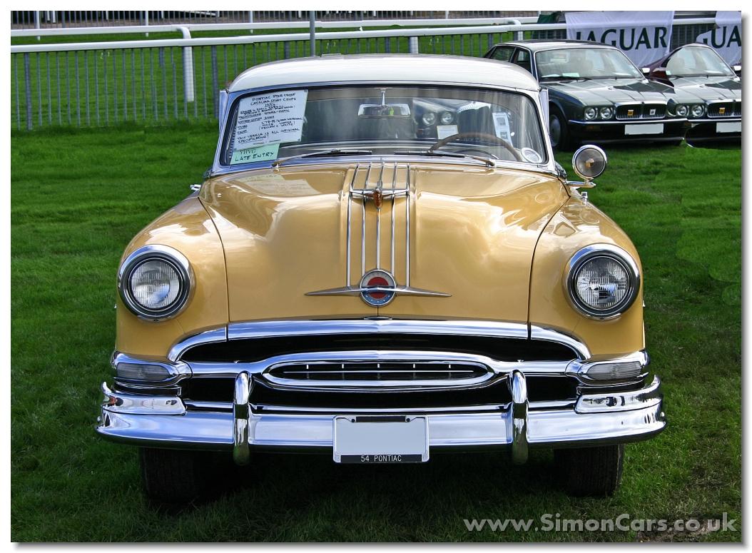 Simon Cars Pontiac Starchief 1954 1950 Star Chief Ac Catalina Coupe Head