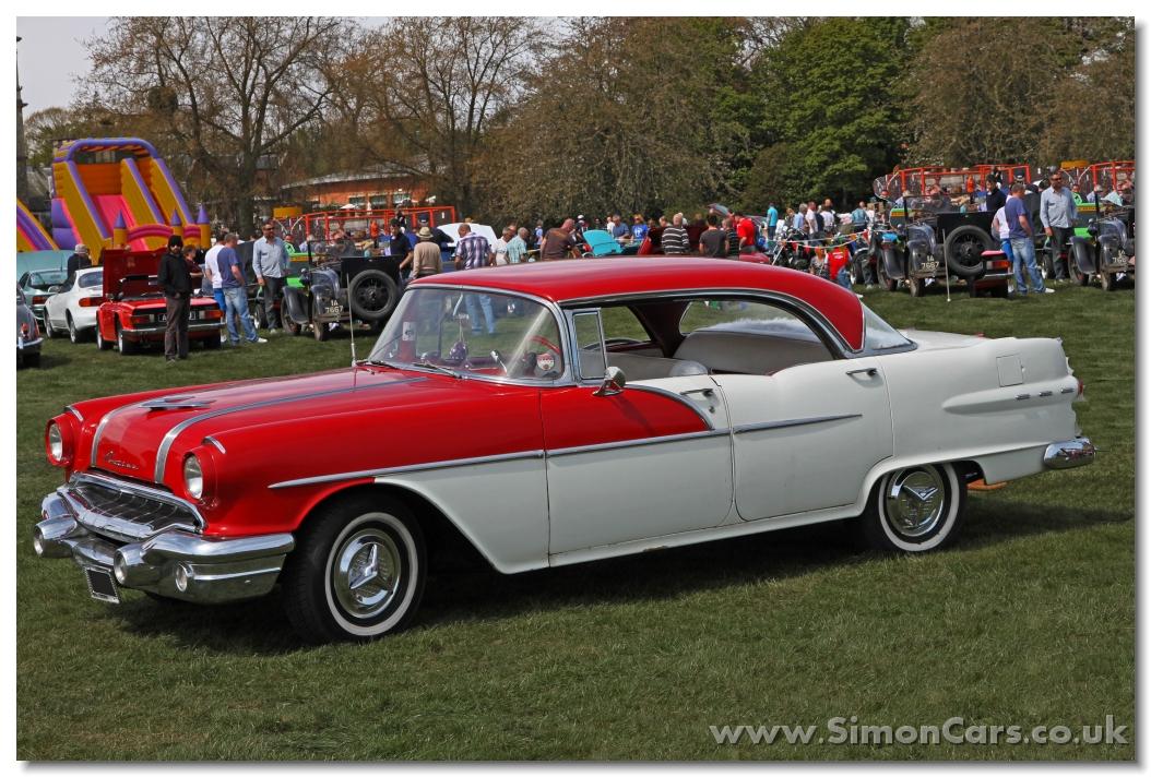 Simon cars pontiac chieftain 1955 for 1956 pontiac 4 door hardtop