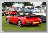 Porsche 911 1984 Carrera Convertible rear