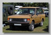Range Rover 1972 front