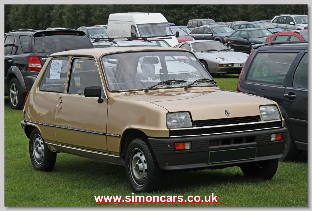 simon cars renault 5. Black Bedroom Furniture Sets. Home Design Ideas
