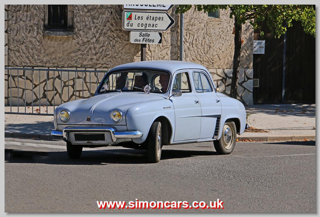 Simon Cars Renault Dauphine