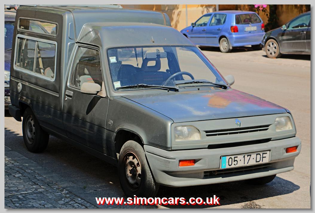 Simon Cars Renault Express Van