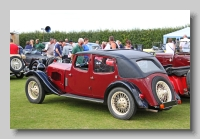 Riley 14-6 1933 Kestrel rear