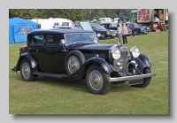 Rolls-Royce 20-25 1934 PW sports front