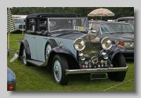 Rolls-Royce 20-25 1934 front Park Ward Sedanaca