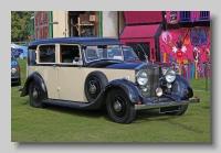 Rolls-Royce 25-30 1938 Barker front