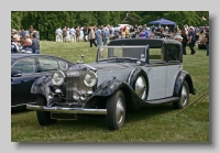 Rolls-Royce Phantom II Barker Sedanaca Deville front