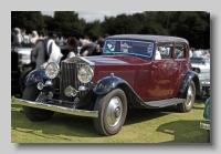 Rolls-Royce Phantom II Continental Barker Coupe front