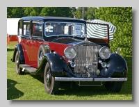 Rolls-Royce Phantom III 1936 Hooper Limousine front