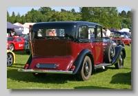 Rolls-Royce Phantom III 1936 Hooper Limousine rear