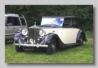 Rolls-Royce Phantom III 1938 Sedanca de Ville HJM front