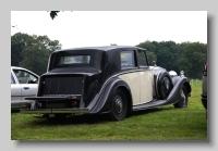 Rolls-Royce Phantom III 1938 Sedanca de Ville HJM rear