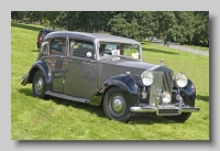 Rolls-Royce Silver Wraith 1947 Barker front