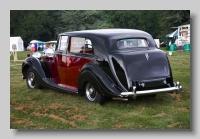 Rolls-Royce Silver Wraith 1949 Mulliner Sedanca rear