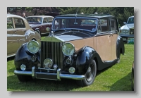 Rolls-Royce Silver Wraith 1953 Hooper front