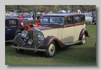Rolls-Royce Wraith 1938 Hooper front