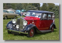 Rolls-Royce Wraith 1939 Hooper front