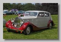 Rolls-Royce Wraith 1939 JY saloon front