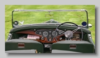 Rover 12 Open Tourer inside
