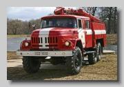 ZIL 131 fire engine
