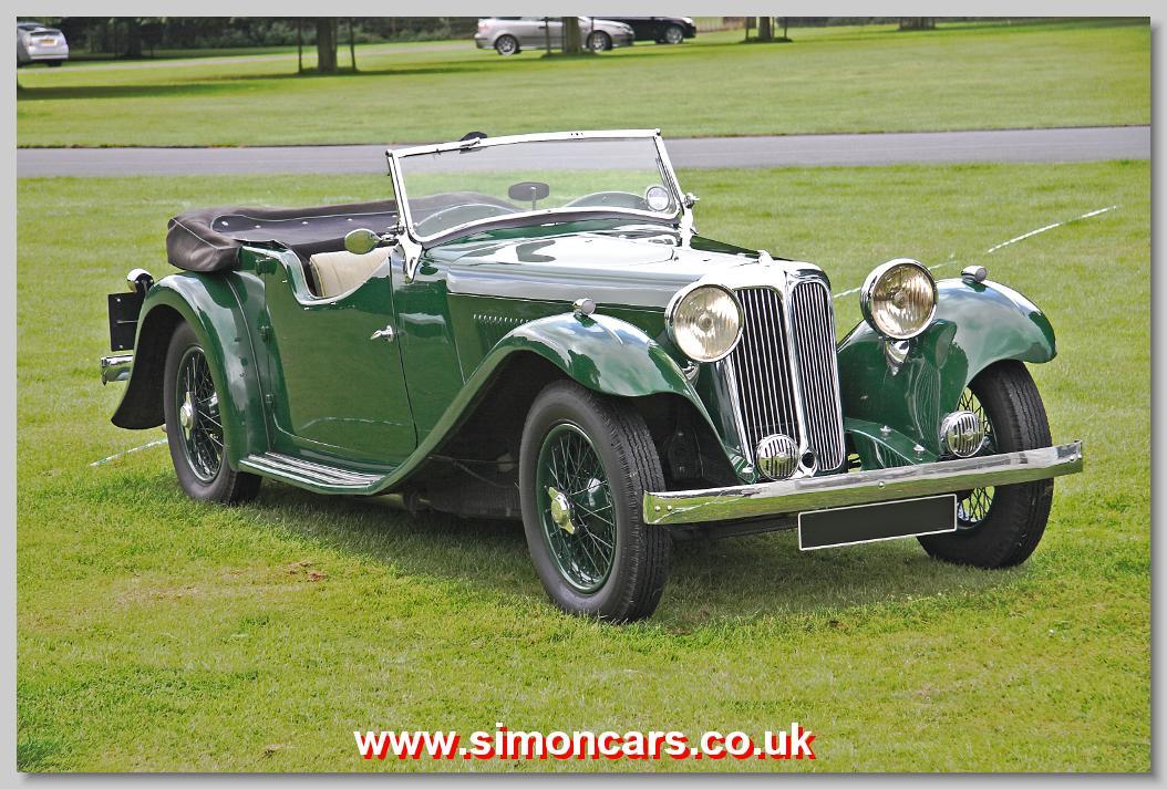 Simon Cars - S.S.1 - British Classic Cars, Historic Automobiles ...