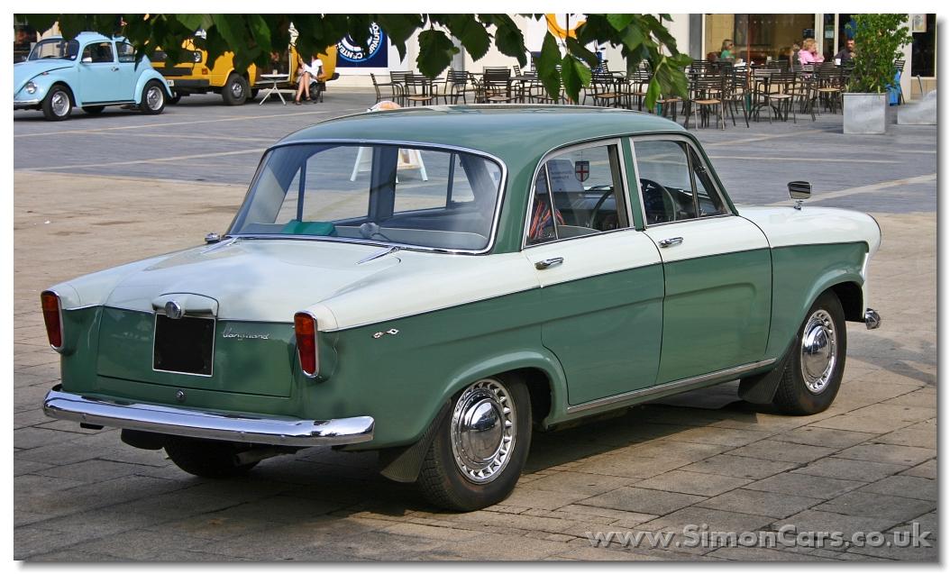Simon Cars - Standard Vanguard Phase III and IV