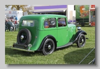 Standard Nine 1934 rear