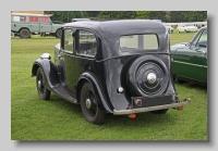 Standard Nine 1936 2-door rear