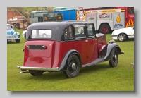 Standard Twelve 1936 rear