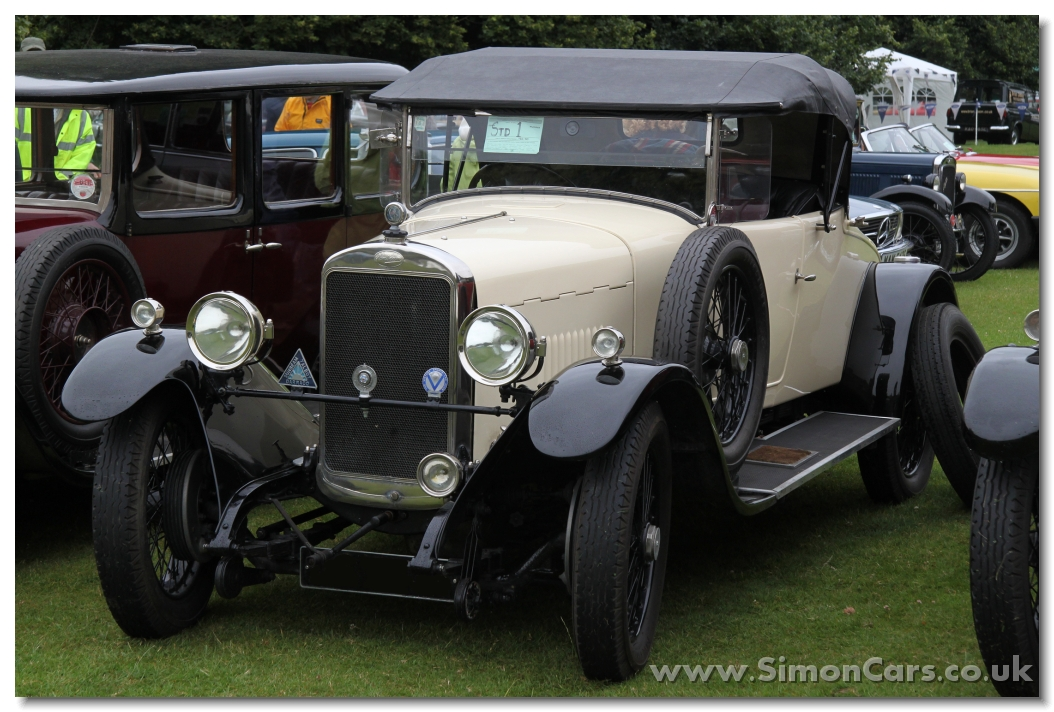 Sunbeam 14-40 Sports Tourer 1924 front