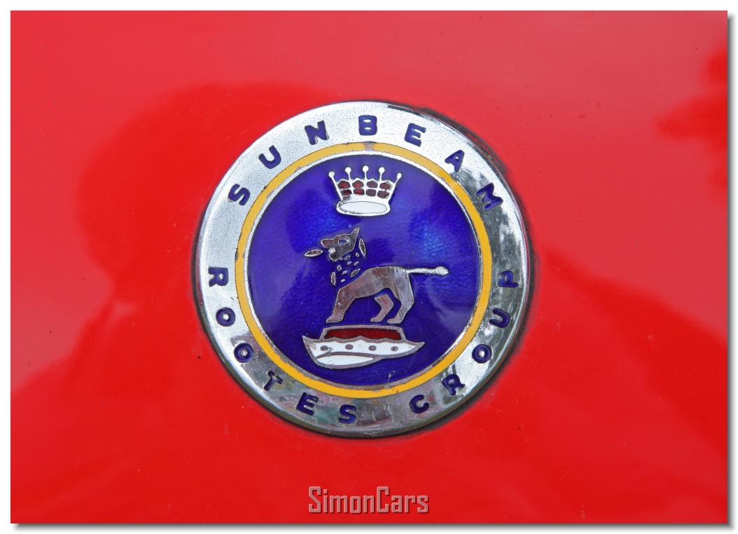 All sunbeam car company models list of sunbeam car company cars - Aa_sunbeam Alpine Series Ii Badge Sunbeam Alpine Series Ii Bonnet Badge