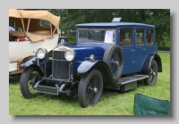 Sunbeam Twenty 20-9 1927 Weymann Saloon front