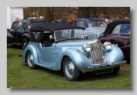 Sunbeam Talbot Ten 1946 tourer  front