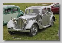 SS Jaguar1-5litre 1939 front
