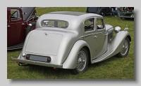 SS Jaguar1-5litre 1939 rear