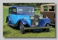 Talbot 105 1934 JY saloon front