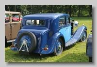 Talbot 105 1934 JY saloon rear