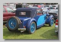 Talbot BI 105 1937 Corsica Coupe rear