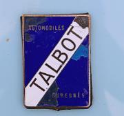 aa Talbot Lago T150C 1939 badge