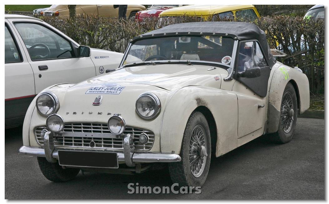 Simon Cars Triumph Tr3