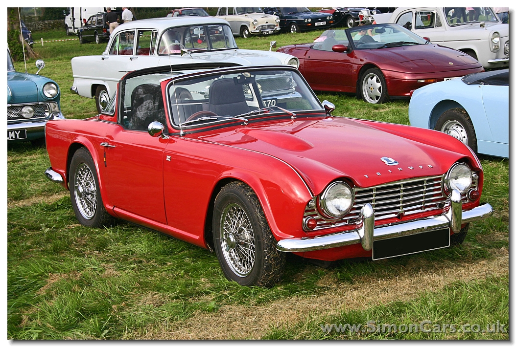 simon cars triumph tr4. Black Bedroom Furniture Sets. Home Design Ideas