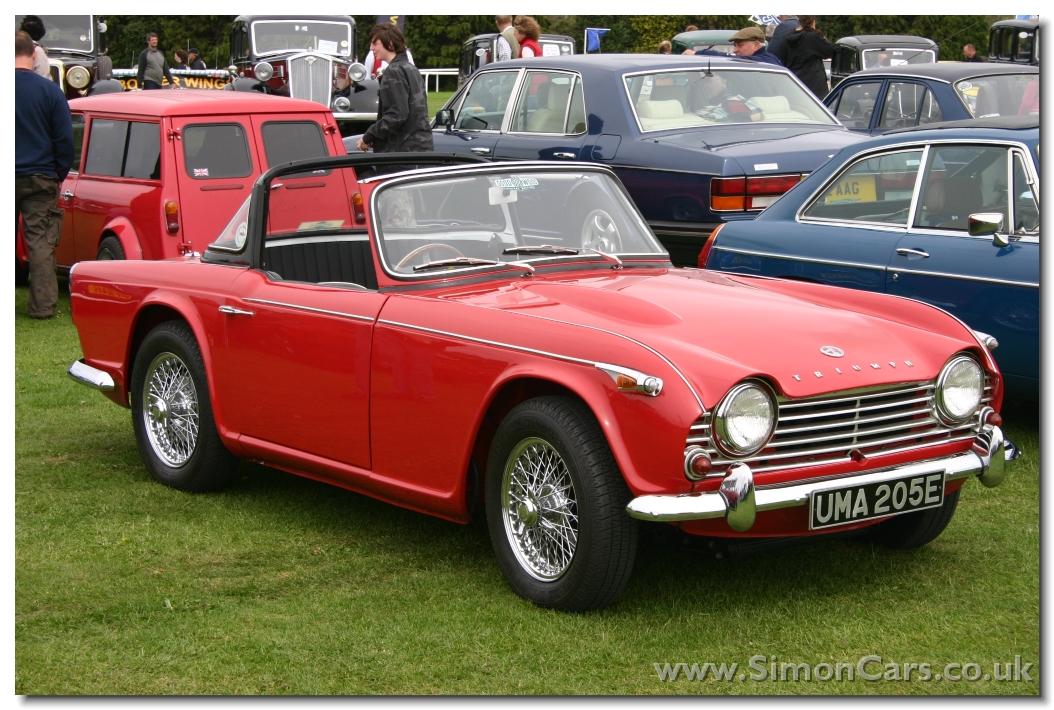 Simon Cars - Triumph TR4