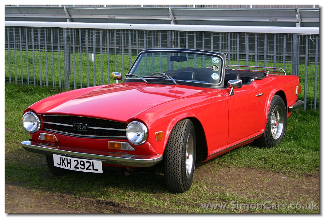 simon cars triumph tr6. Black Bedroom Furniture Sets. Home Design Ideas