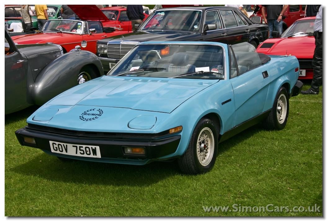 Simon Cars - Triumph TR7 and TR8