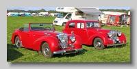 Triumph 1800 Roadster and Alvis TA 14